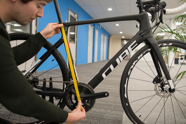 mesurer le vélo